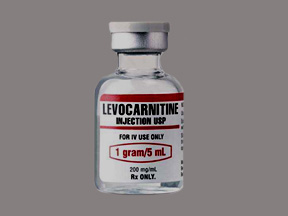 Levocarnitina Inyectable 1g/5mL