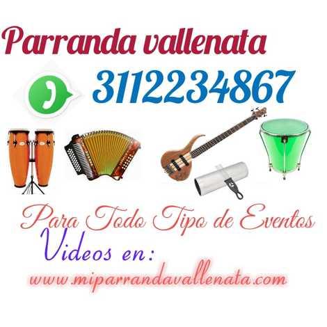 Parranda Vallenata Grupo Vallenato Melgar Tolima